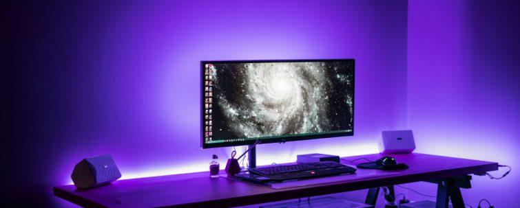 parse verlichting gaming setup