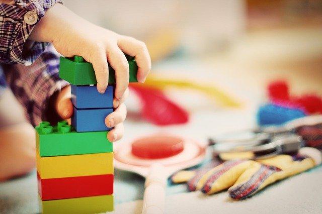 Kinderen lego
